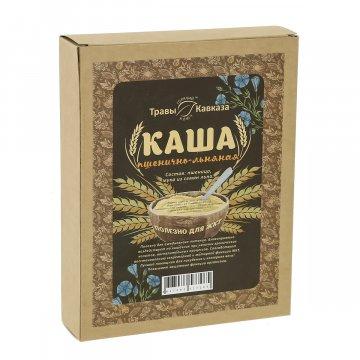 Натуральная каша Пшенично-льняная