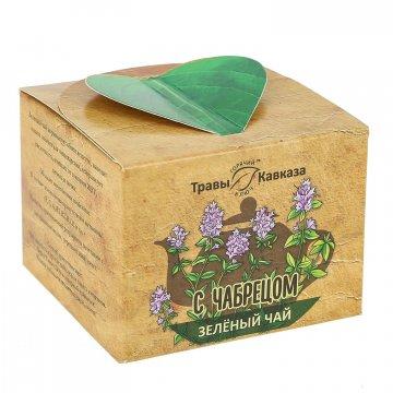 Натуральный зеленый чай с чабрецом