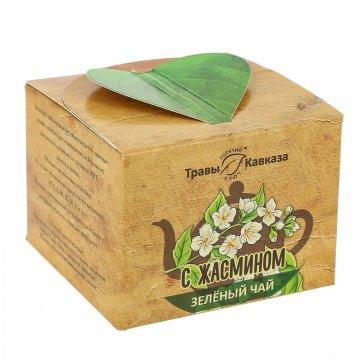 Натуральный зеленый чай с жасмином