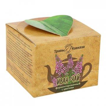 Натуральный иван-чай ферментированный с цветами