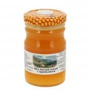 Натуральный мёд цветочный с прополисом арт.9993