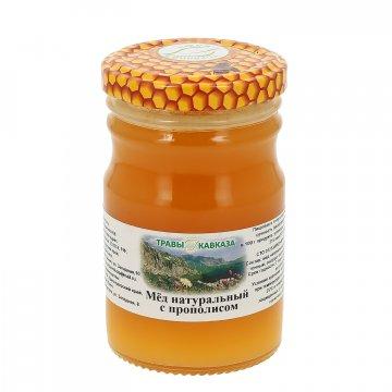 Натуральный мёд цветочный с прополисом