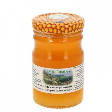 Натуральный мёд цветочный с корнем девясила