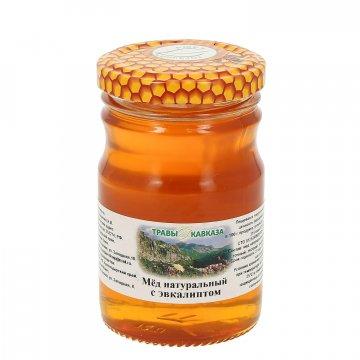 Натуральный мёд цветочный с эвкалиптом