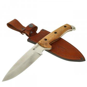 Нож Shark Kizlyar Supreme (сталь AUS-8 SW, рукоять дерево)