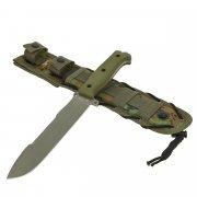 """Кизлярский нож для выживания """"Survivalist X"""" (сталь - AUS-8, рукоять - кратон) арт.9628"""