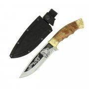 Разделочный нож Сафари-1 (сталь Х12МФ, рукоять дерево)