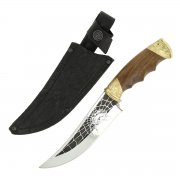 Разделочный нож Жало (сталь Х12МФ, рукоять дерево)