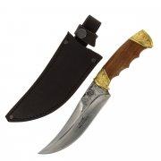 Разделочный нож Жало (сталь Х12МФ, рукоять дерево) арт.5077