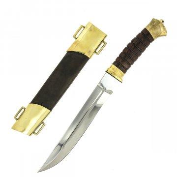 Нож пластунский (сталь - 95Х18, рукоять - венге)