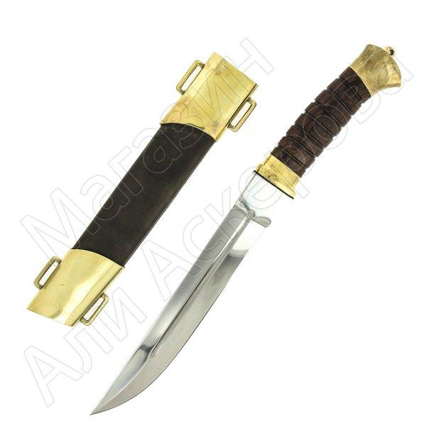 Нож пластунский (сталь 95Х18, рукоять венге)