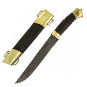 Нож пластунский (сталь - алмазная ХВ5, рукоять - венге)