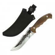 Разделочный нож Скорпион (сталь Х50CrMoV15, рукоять дерево) арт.5166