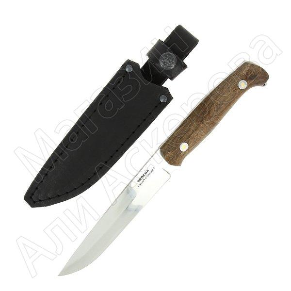 Кизлярский нож разделочный Осетр (сталь Z60, рукоять орех)