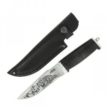 Кизлярский нож разделочный Барс (сталь Х50CrMoV15, рукоять кожа)