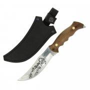 Разделочный нож Скорпион (сталь Х50CrMoV15, рукоять дерево) арт.5190