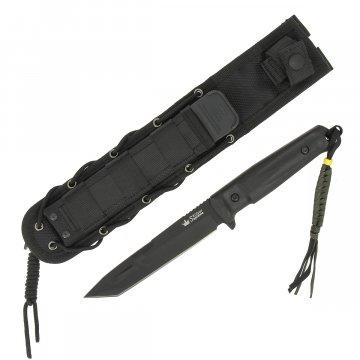 """Тактический нож """"Aggressor"""" (сталь - AUS-8 Black Titanium, рукоять - кратон)"""