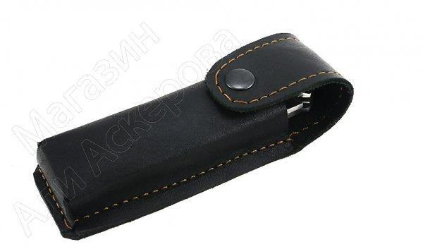 Складной нож Снайпер (дамасская сталь, рукоять дерево, 2-х предметный)