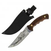 Разделочный нож Хазар (сталь Х50CrMoV15, рукоять дерево)