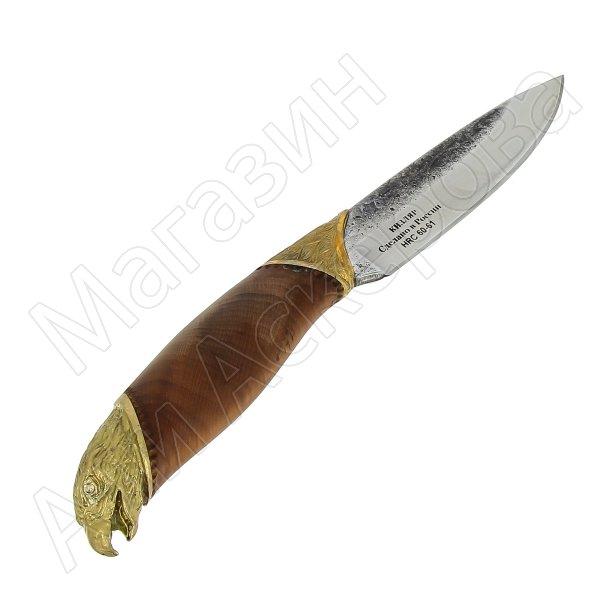 Разделочный нож Сокол (сталь Х12МФ, рукоять орех)