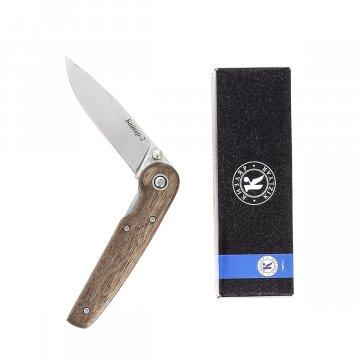 """Кизлярский нож складной """"Байкер-2"""" (сталь - AUS-8, рукоять - дерево)"""