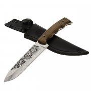 Нож Ачиколь (сталь AUS-8, рукоять дерево) арт.8342