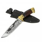 "Кизлярский нож туристический ""Беркут"" (сталь - 65Х13, рукоять - дерево) арт.6720"