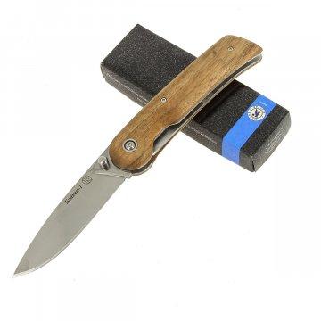 """Кизлярский нож складной """"Байкер-1"""" (сталь - AUS-8, рукоять - дерево)"""