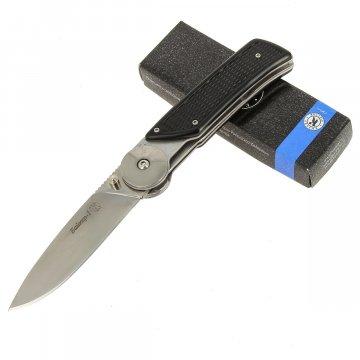 Складной нож Байкер-1 (сталь Х12МФ, рукоять пластик АБС)