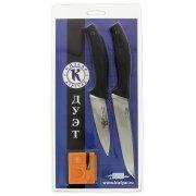 Набор кухонных ножей Дуэт Кизляр (сталь AUS-8, рукоять эластрон)