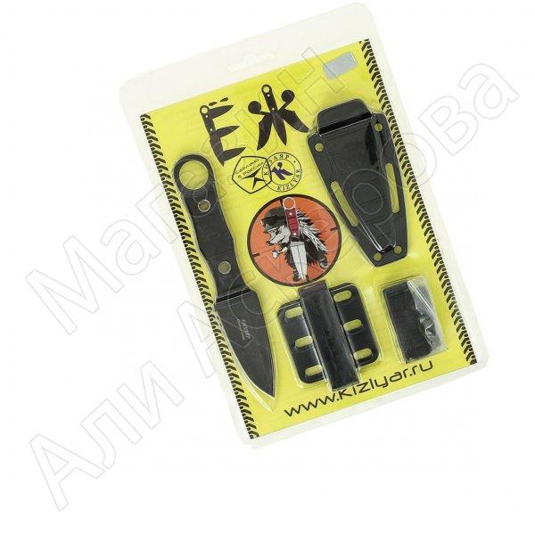 Кизлярский разделочный нож Еж (сталь AUS-8 SW, рукоять АБС пластик)
