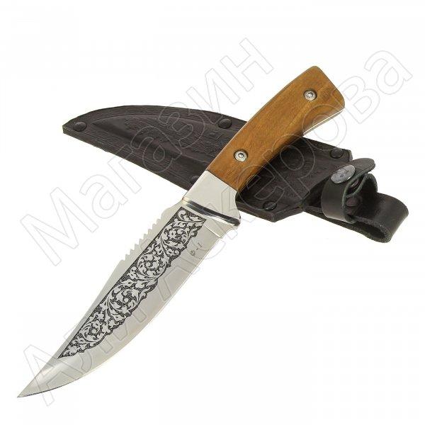Кизлярский нож туристический Ф-1 (сталь AUS-8, рукоять орех)