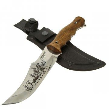 Нож Гарпун (сталь AUS-8 , рукоять дерево)