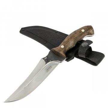 Разделочный нож Гризли (сталь Х12МФ, рукоять дерево)