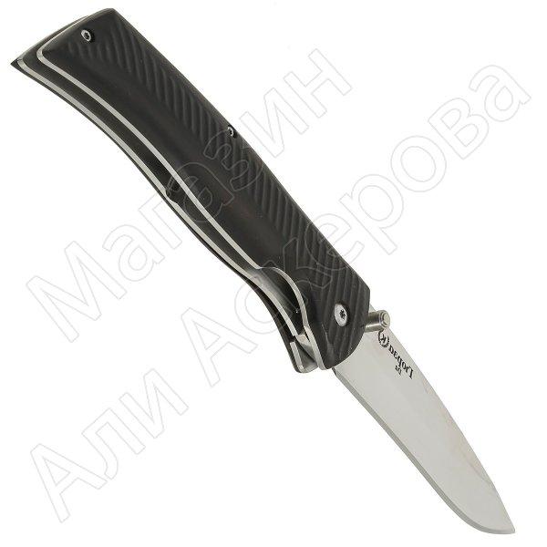 """Кизлярский нож складной """"Гюрза"""" (сталь - D2, рукоять - граб) арт.11032"""