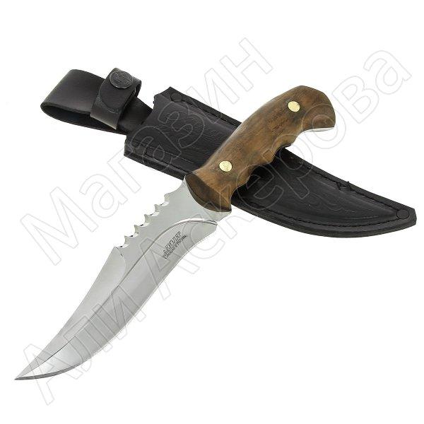 Разделочный нож Хищник (сталь 65Х13, рукоять орех)