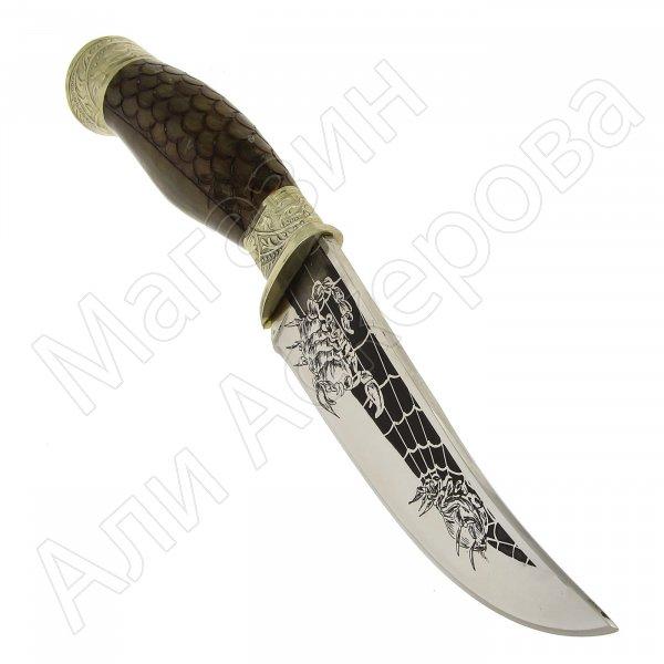 Разделочный нож Жало (сталь 65Х13, рукоять дерево)