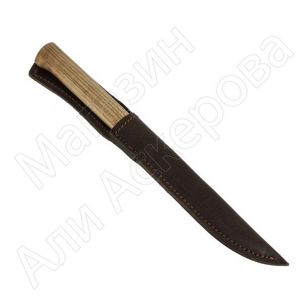 """Кизлярский нож разделочный """"Канцлер"""" (сталь - AUS-8, рукоять - дерево) арт.6735"""