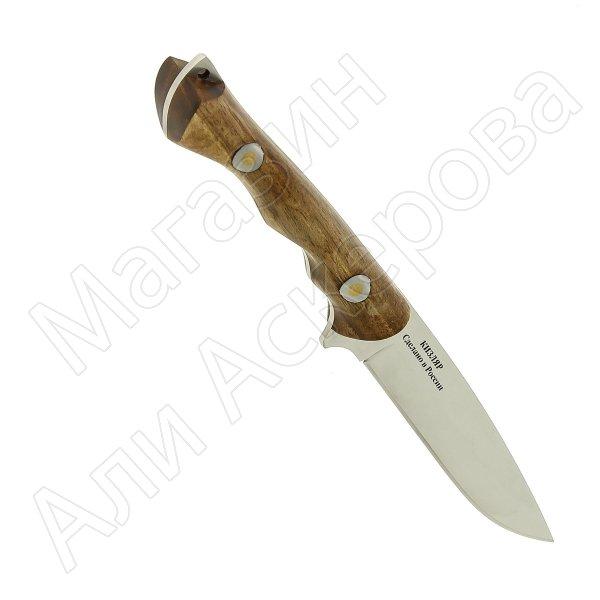 Кизлярский нож разделочный Катран (сталь Х50CrMoV15, рукоять орех)