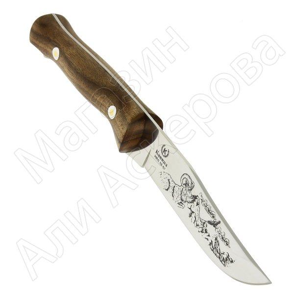Кизлярский нож туристический Кавказ (сталь Х50CrMoV15, рукоять орех)