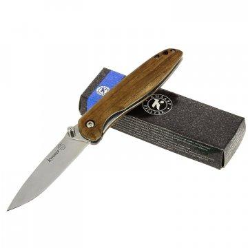 Складной нож Куница Кизляр (сталь AUS-8, рукоять дерево)