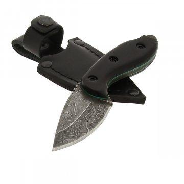 Кизлярский нож разделочный М-2 (дамасская сталь, рукоять черный граб)