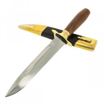 Нож Самсонова Медвежий (сталь 95Х18, рукоять орех)