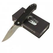 "Складной нож ""Nemesis"" (сталь - D2 Satin, рукоять - G10) арт.4316"