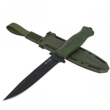 Нож НР-18 Кизляр (сталь AUS-8, рукоять эластрон хаки)