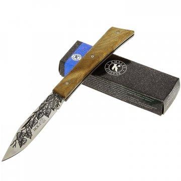 """Кизлярский нож складной """"НСК-2"""" (сталь - AUS-8, рукоять - дерево)"""