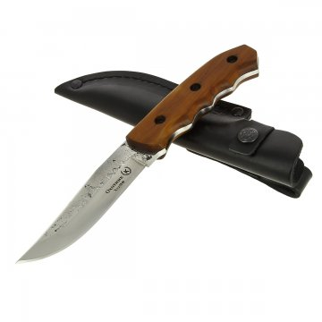 Разделочный нож Охотник (сталь Х12МФ, рукоять дерево)