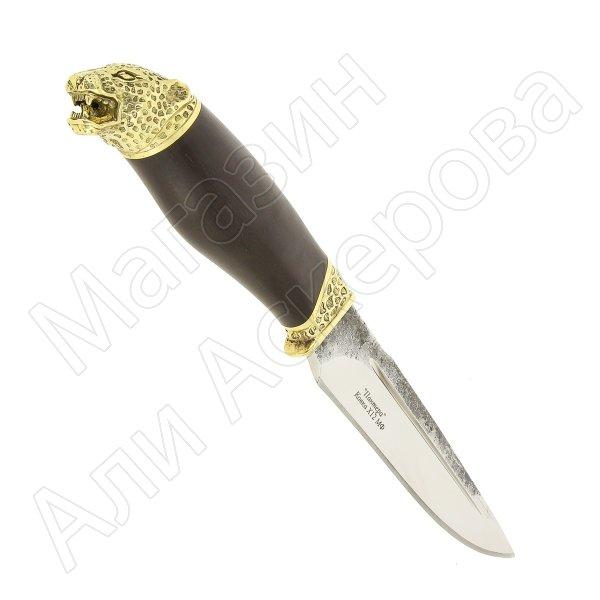Разделочный нож Пантера (сталь Х12МФ, рукоять черный граб)