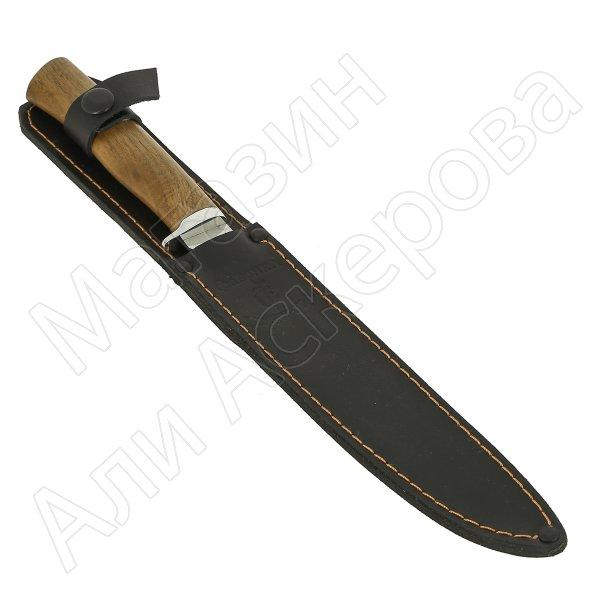 Нож Нерпа (сталь 65Х13, рукоять орех)