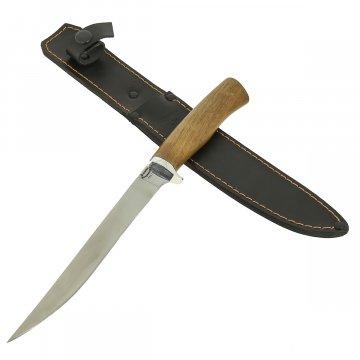 Нож Нерпа (сталь 65Х13, рукоять дерево)
